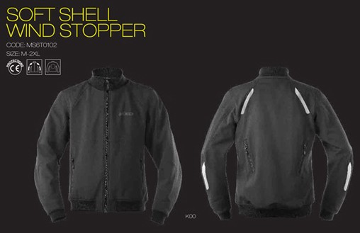 【AXO】內穿外套 「SOFT SHELL WIND STOPPER」 - 「Webike-摩托百貨」