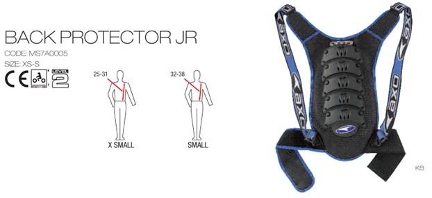 【AXO】護背 LEV.2 「BACK PROTECTOR JR」Junior model - 「Webike-摩托百貨」