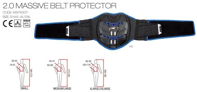 【AXO】護腰「MASSIVE BELT PROTECTOR」 - 「Webike-摩托百貨」