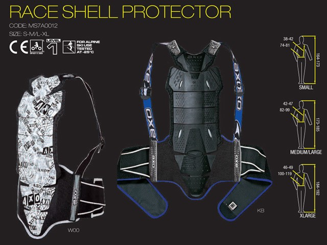 【AXO】護背「RACE SHELL PROTECTOR」 - 「Webike-摩托百貨」