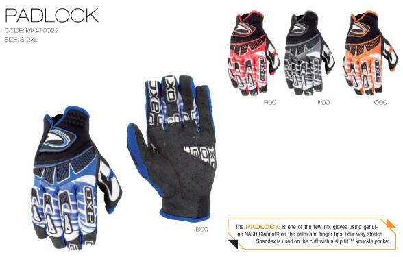 【AXO】越野手套「PADLOCK」 - 「Webike-摩托百貨」