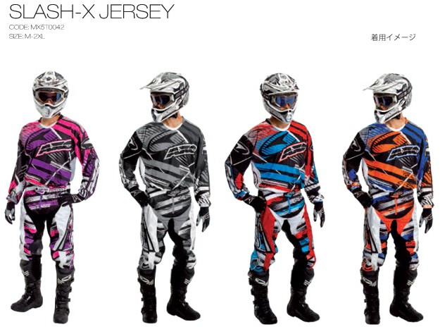 【AXO】越野車衣「SLASH-X JERSEY」 - 「Webike-摩托百貨」