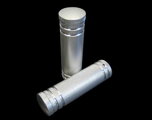 【Neofactory】鋁合金5Rib握把套 黑色 - 「Webike-摩托百貨」