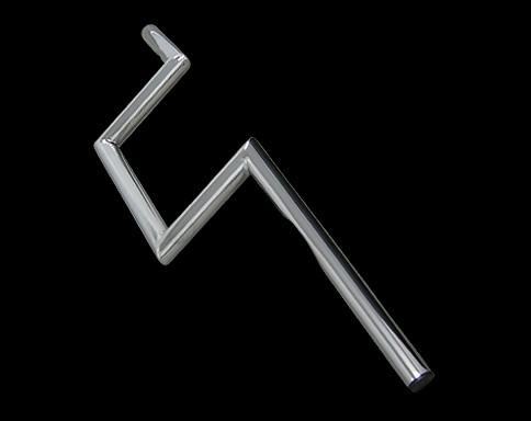 【Neofactory】有凹痕 6吋 Z把手 鍍鉻 - 「Webike-摩托百貨」