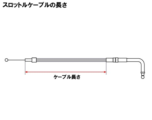 【Neofactory】41吋 油門拉索 90°(不鏽鋼網格狀) - 「Webike-摩托百貨」