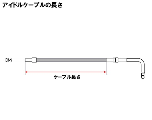 【Neofactory】29吋 怠速拉索90°(不鏽鋼網格狀) - 「Webike-摩托百貨」