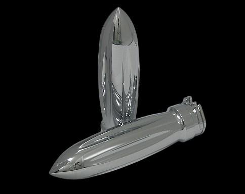 【Neofactory】鍍鉻 Torpedo握把套 - 「Webike-摩托百貨」