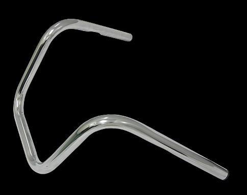 【Neofactory】有凹痕 Chopper 把手 II型 鍍鉻 - 「Webike-摩托百貨」