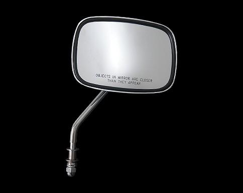 【Neofactory】OEM柄型式方型後視鏡 (鍍鉻) 右用 - 「Webike-摩托百貨」