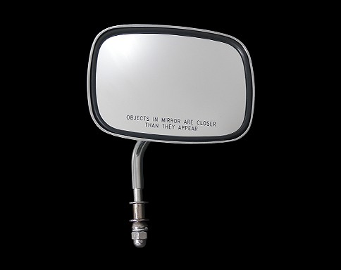 【Neofactory】短柄OEM尺寸方型後視鏡 (鍍鉻) - 「Webike-摩托百貨」