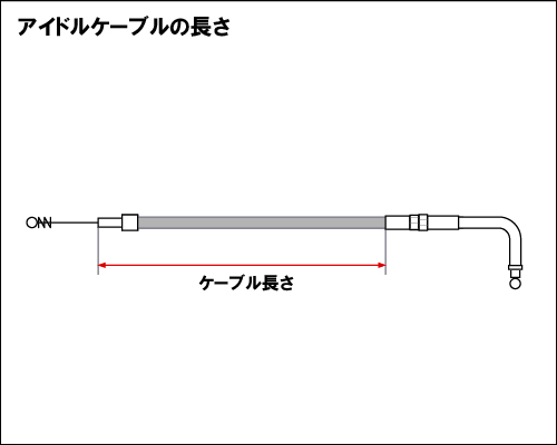 【Neofactory】41吋 怠速拉索90°(不鏽鋼網格狀) - 「Webike-摩托百貨」