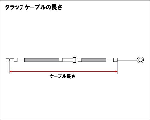 【Neofactory】57吋 離合器拉索 (黑) - 「Webike-摩托百貨」