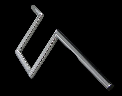 【Neofactory】有凹痕 8吋 Narrow Z把手 鍍鉻 - 「Webike-摩托百貨」