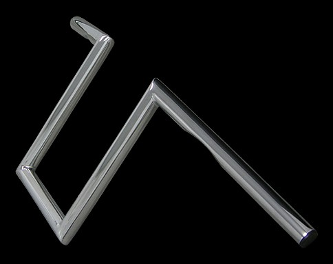 【Neofactory】有凹痕 10吋 Narrow Z把手 鍍鉻 - 「Webike-摩托百貨」