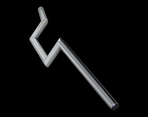 【Neofactory】無凹痕 4吋 Narrow Z把手 鍍鉻 - 「Webike-摩托百貨」