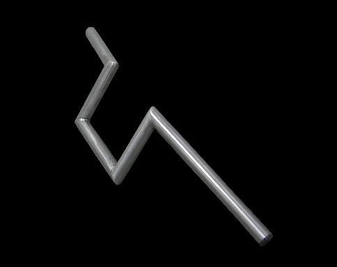 【Neofactory】無凹痕 6吋 Narrow Z把手 未塗装 - 「Webike-摩托百貨」
