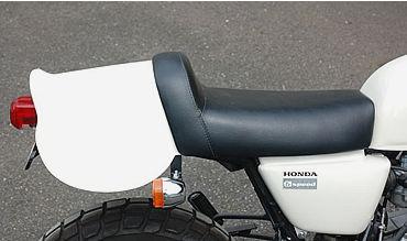 【OSCAR】APE100用 Saddlecloth 單座坐墊 (黒色塑膠) - 「Webike-摩托百貨」