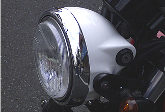 【OSCAR】鑰匙頭燈外殼 (白色塑膠) - 「Webike-摩托百貨」