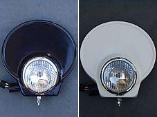 【OSCAR】頭燈罩組 4.5 Type B (白色塑膠) - 「Webike-摩托百貨」