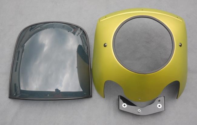 【OSCAR】頭燈整流罩套件 - 「Webike-摩托百貨」