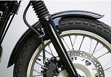 【OSCAR】前土除 Type B (黒色塑膠) - 「Webike-摩托百貨」