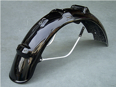 【OSCAR】後土除 Type B 附支架 (黒色塑膠) - 「Webike-摩托百貨」