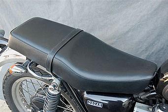 【OSCAR】雙座坐墊 (黒滾邊) - 「Webike-摩托百貨」