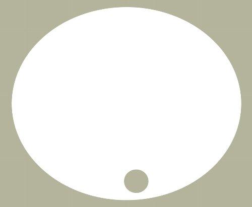 【HollyEquip】側蓋號碼牌底色貼紙 - 「Webike-摩托百貨」