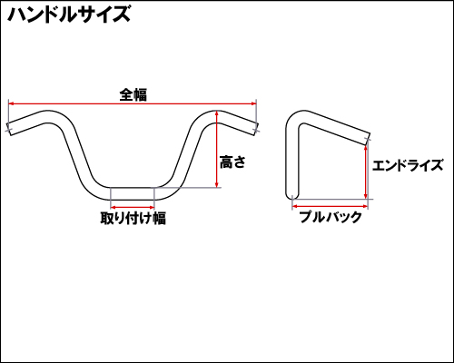 【Neofactory】Back Horn把手有凹痕 鍍鉻 - 「Webike-摩托百貨」