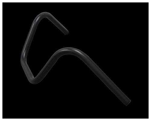 【Neofactory】Back Horn把手無凹痕 黑 - 「Webike-摩托百貨」