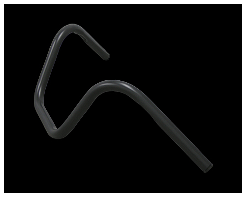 【Neofactory】Back Horn把手有凹痕 黑 - 「Webike-摩托百貨」