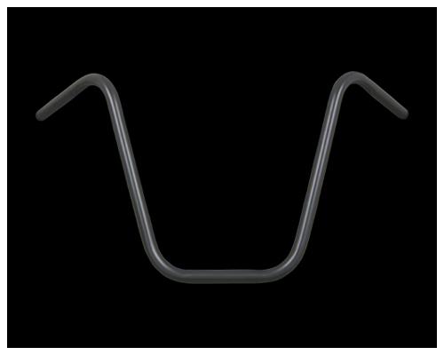 【Neofactory】Narrow Sky 高位把手有凹痕 黑 - 「Webike-摩托百貨」
