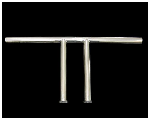 【Neofactory】山本製作所 10吋山本式操縦管 直 有凹痕 不鏽鋼 - 「Webike-摩托百貨」