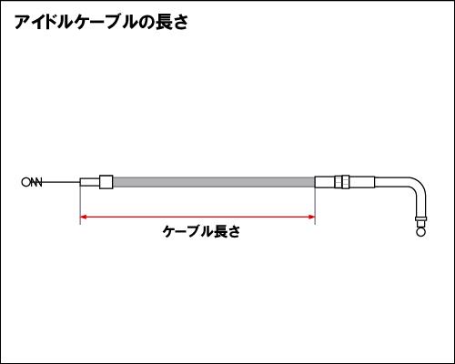【Neofactory】怠速拉索41吋 90° (不鏽鋼網格狀) 96y- BT用 - 「Webike-摩托百貨」