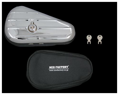 【Neofactory】Teardrop 工具包 左 鍍鉻 - 「Webike-摩托百貨」