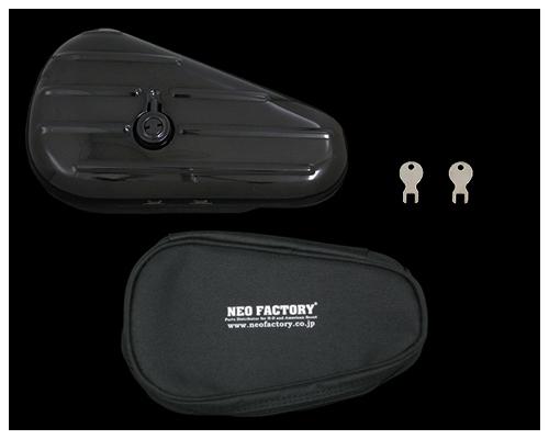 【Neofactory】Teardrop 工具包 左 黑色 - 「Webike-摩托百貨」