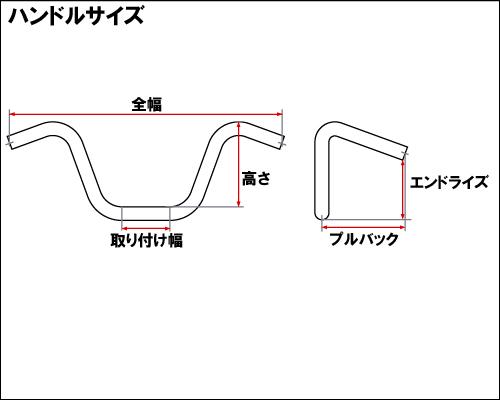 【Neofactory】Center Narrow Drag 把手無凹痕 未塗装 - 「Webike-摩托百貨」