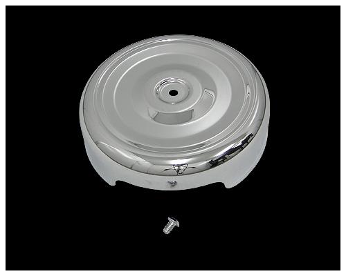 【Neofactory】Bobber Style 圓型空氣濾清器外蓋 (鍍鉻) - 「Webike-摩托百貨」