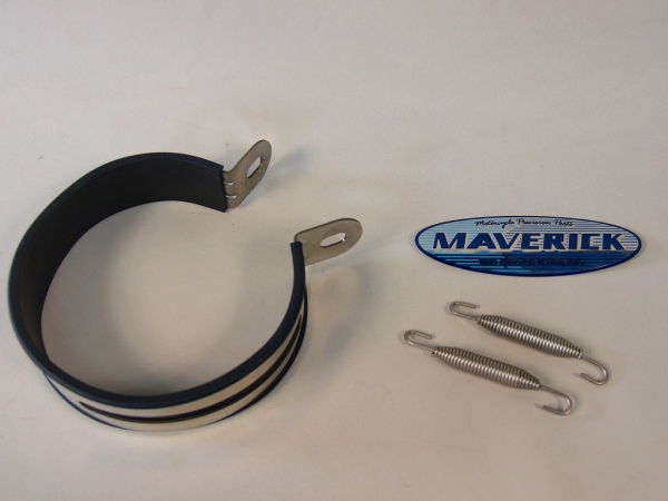 【MAVERICK】MV110鈦合金消音器 - 「Webike-摩托百貨」