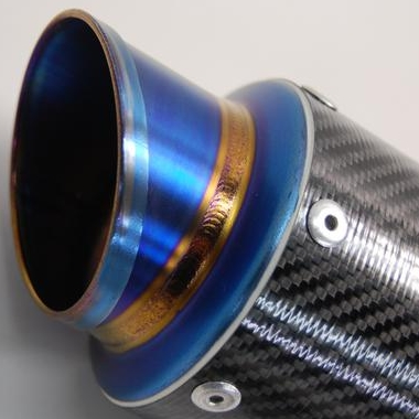 【MAVERICK】MV83碳纖維消音器(斜線切割造型) - 「Webike-摩托百貨」