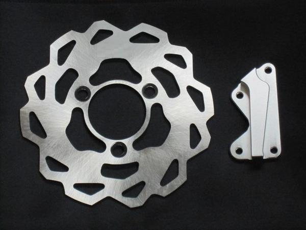【Rin Parts】 煞車碟盤 (V2) - 「Webike-摩托百貨」