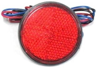【Rin Parts】LED 圓型反光片 - 「Webike-摩托百貨」