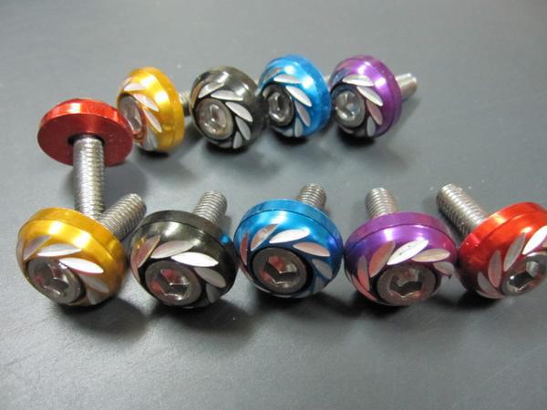 【Rin Parts】前整流罩安裝裝飾螺絲組 - 「Webike-摩托百貨」