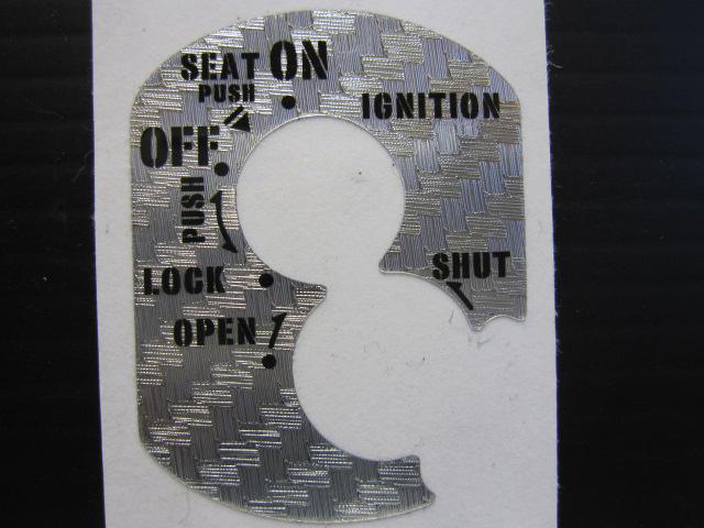 【Rin Parts】鑰匙開關貼片 - 「Webike-摩托百貨」