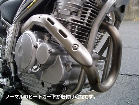 【力造】鈦合金排氣管前段 - 「Webike-摩托百貨」