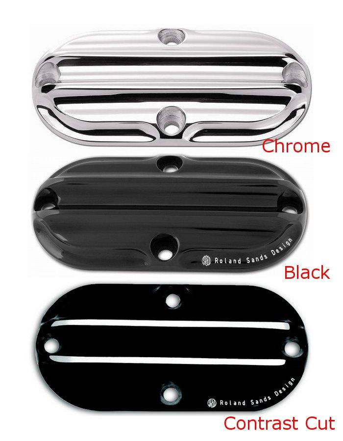 【RSD Roland Sands Design】NOSTALGIA 引擎檢修孔外蓋 (黑色) - 「Webike-摩托百貨」