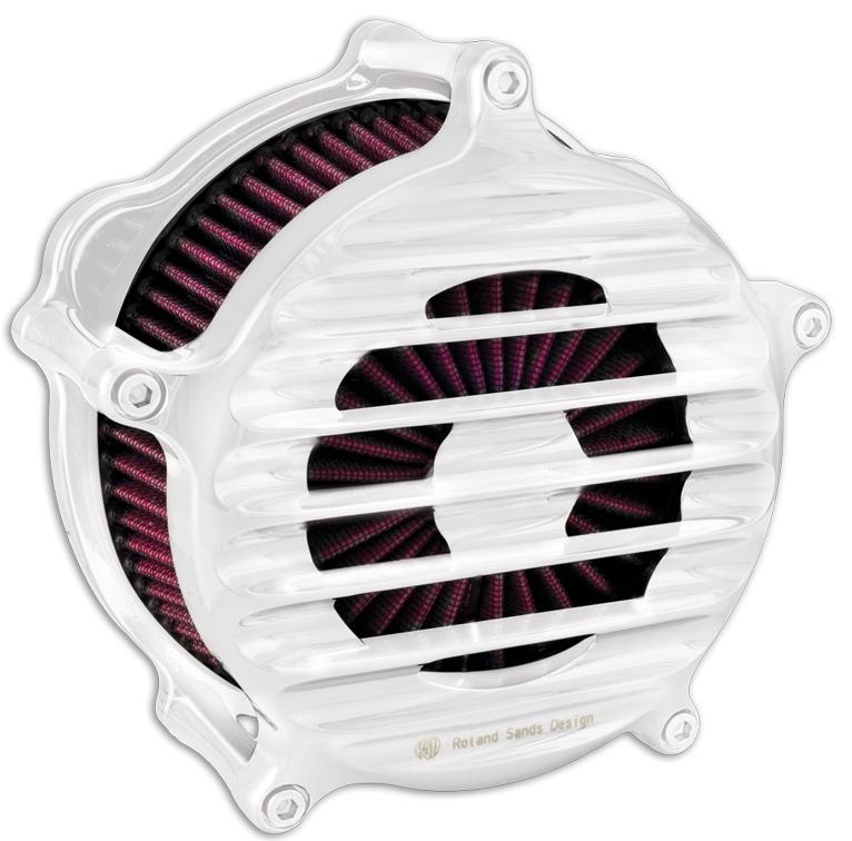【RSD Roland Sands Design】NOSTALGIA 空氣濾清器 (鍍鉻) - 「Webike-摩托百貨」