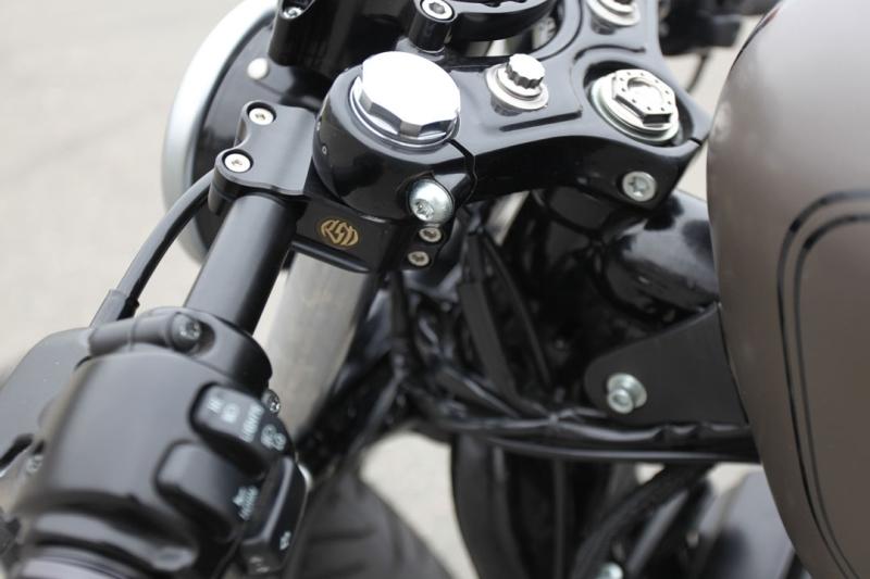 【RSD Roland Sands Design】Clip-on 分離式把手 (消光黑) - 「Webike-摩托百貨」