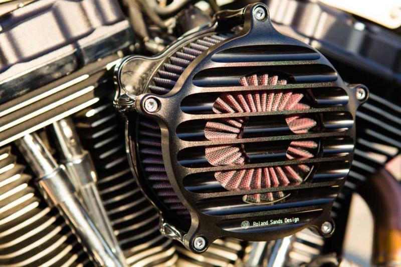 【RSD Roland Sands Design】NOSTALGIA 空氣濾清器 (黑色-OPS) - 「Webike-摩托百貨」