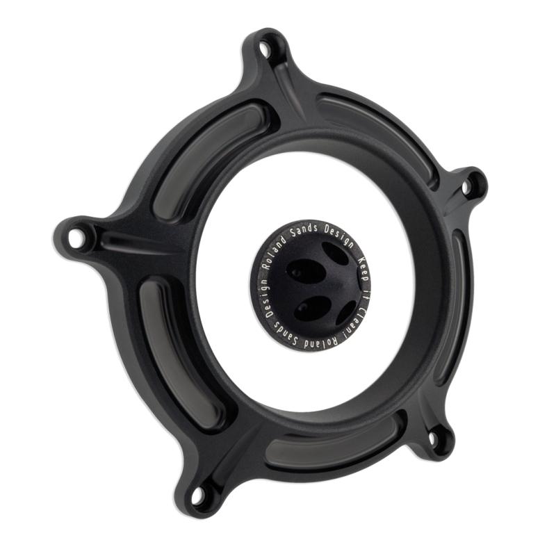 【RSD Roland Sands Design】RSD/PM 空氣濾清器用飾蓋 (TURBIN/黑色-OPS) - 「Webike-摩托百貨」